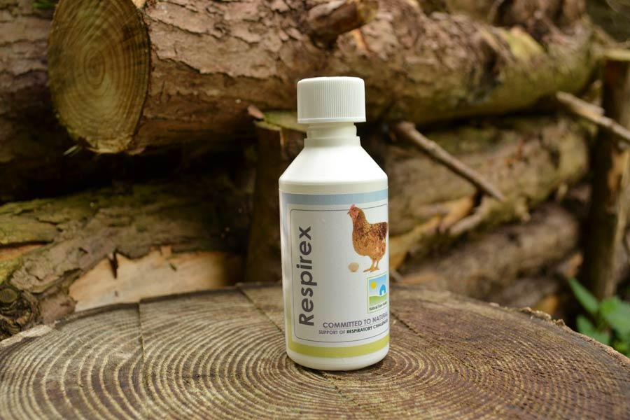 REspirex for hens with breathing difficulties