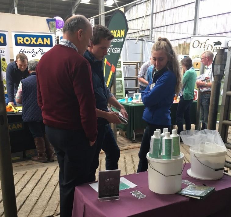 Natural Farm Health Stand at NSA Sheep Show Ballymena