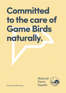 Natural care of gamebirds
