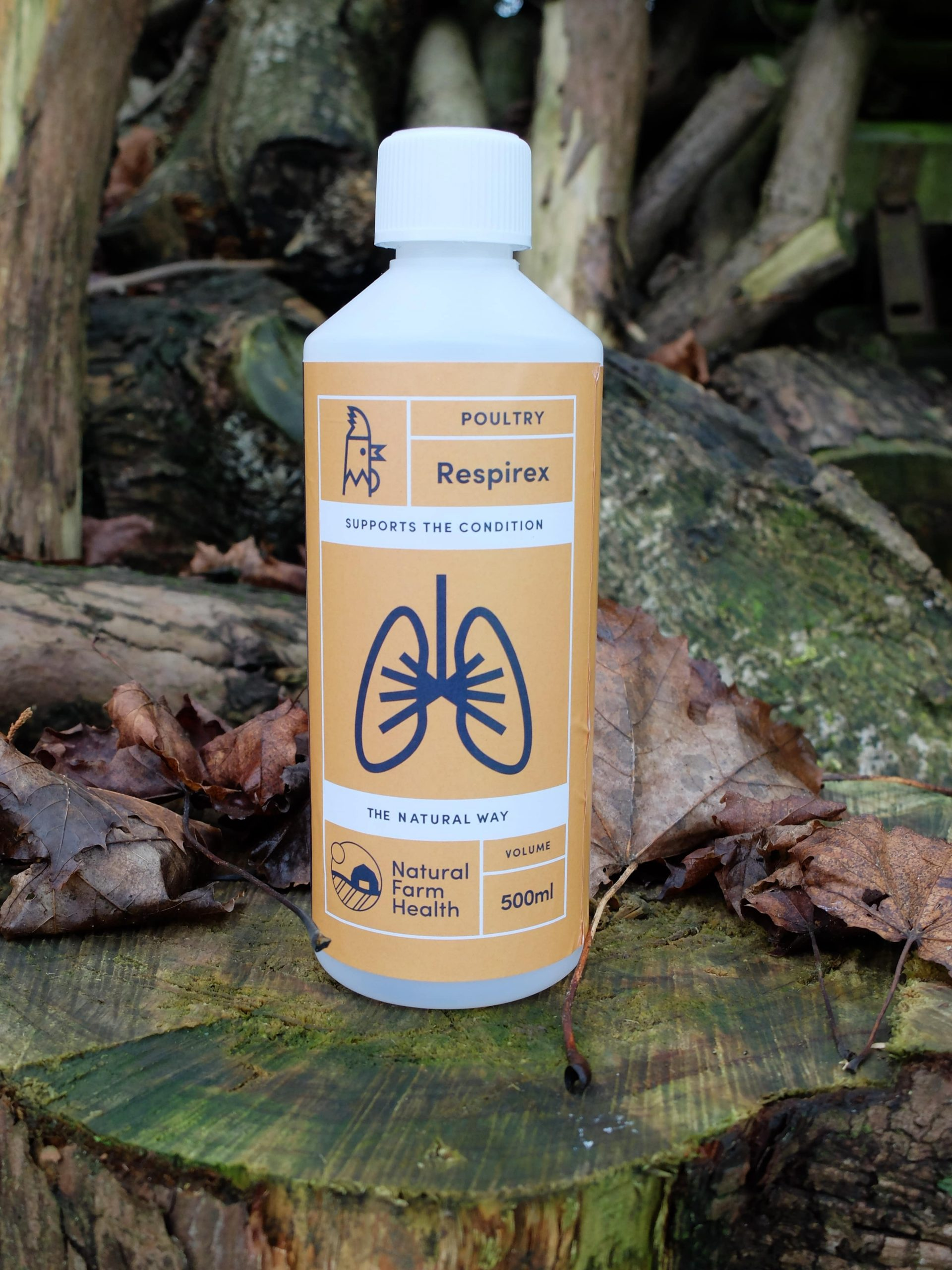 Respirex for poultry with breathing difficulties